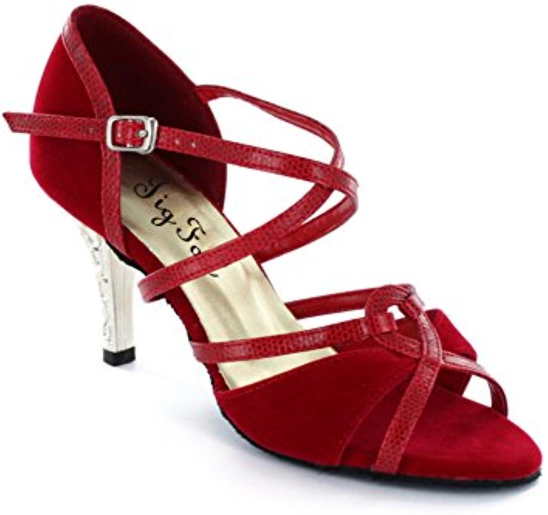 Chaussures de danse latine pour adultes adultes pour / Les chaussures de femmes avertis / Chaussures de danse de haut talon...B01NGULFP9Parent fd5ff2