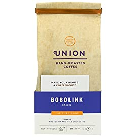 Union Brazil Fazendas Bobolink Ground Coffee 200 g (Pack of 3)