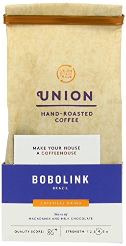 Union Brazil Fazendas Bobolink Ground Coffee 200 g (Pack of 3)  Union Brazil Fazendas Bobolink Ground Coffee 200 g (Pack of 3) 41JA67xb78L