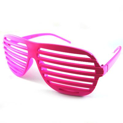 lunnettes Sonnenbrille/Shutter Shades Rosa (Pink)