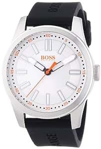 Boss Orange Herren-Armbanduhr XL Big Up Analog Quarz Silikon 1512937