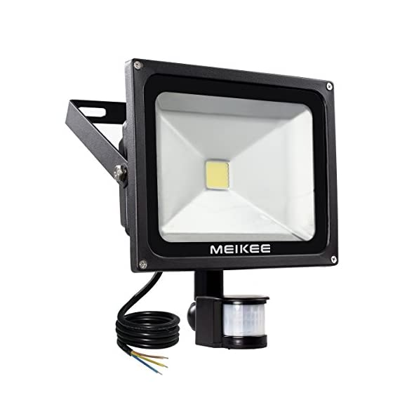 MEIKEE Security Lights With Motion Sensor, 30w Super Bright LED ...