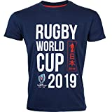 T-Shirt Enfant Coupe du Monde DE Rugby 2019 - Collection Officielle Rugby World Cup - 12 Ans