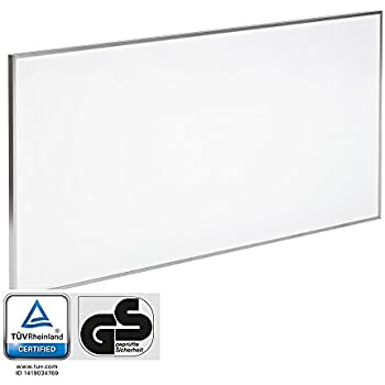 TROTEC Panneau à infrarouge TIH 700 S, rayonnant infrarouge chauffage – 700 W - avec support pour fixation murale
