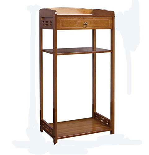GAOYUN Regal Bambus Tee Racks Chinesisch Einfache Holz Multifunktionale TableShelf StorageGement Rack (Color : 42S)