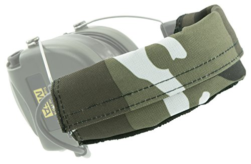 MSA Sordin Supreme PRO X Ersatz-Kopfbänder | 1 Stück Stoffkopfband | Material: PVC Polyester | Schnee-Camouflage