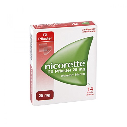 NICORETTE TX Pflaster 25 mg 14 St Pflaster transdermal