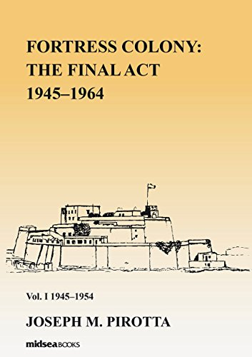Fortress Colony: The Final Act 1945-1964 - Vol 1 1945-54