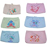 GURU KRIPA Baby Products ® Presents New Born Baby Cotton Hosiery Premium Quality Triangle Nappies, Nadi, Langot Washable Reusable Cotton Nappy Baby Wear Assorted Colored Pack Of 6 (Multi Prints)
