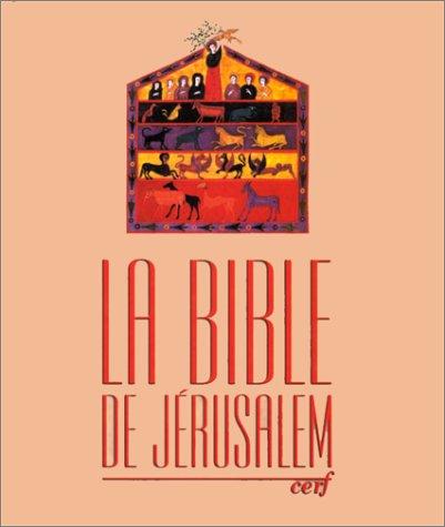 Bible de Jérusalem. (gros caractères c...