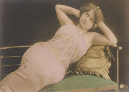 Vintage erotica clessidra corpo riproduzione stampa su arte carta satinata, 200g/mq, formato A3