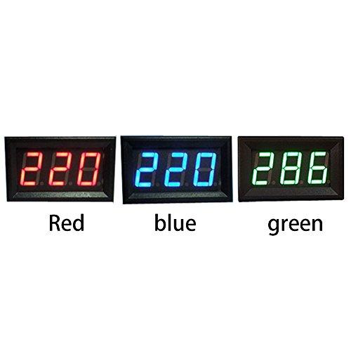GREEN DC 0-99V 3 Wire LED Digital Display Panel Volt Meter Voltage Voltmeter Car Motor SODIAL R