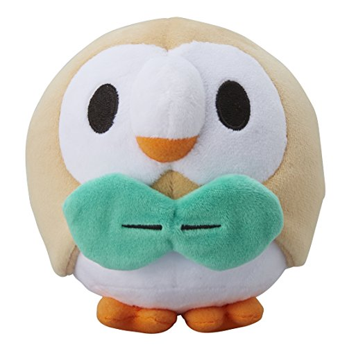 Pokemon Center Originale Pokemon Bambole Rowlet / Brindibou (Pokemon Sole & Luna)