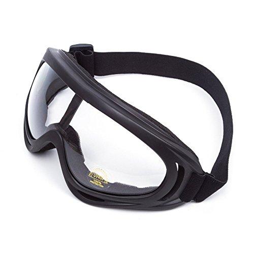 Universal verstellbar UV-Schutz Sicherheit Sport Outdoor Brillen Wind Staub Schutz Motorrad Goggles Ski & Tactical Military Sonnenbrille zu verhindern Partikel