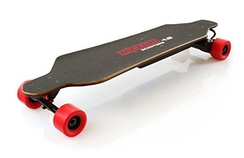 Monowheel WIZZARD 4.0- Patinete eléctrico tipo longboard (35km de alcance, 30km/h)