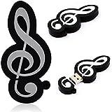 DISOK - Memoria Usb Nota Musical 4 Gb