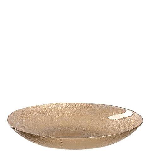 Leonardo Schale 40cm weiß/gold d'Oro
