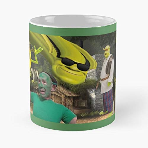 Shrek Meme Funny Ray - Best Gift Ceramic Coffee Mugs