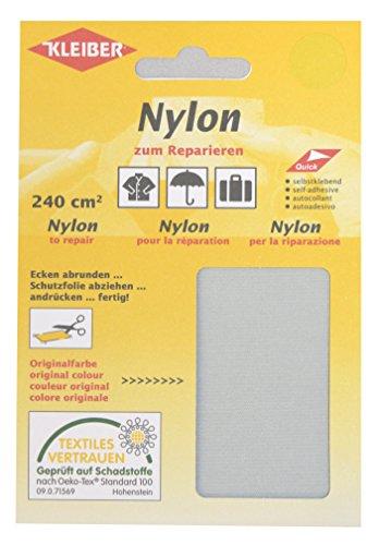 Kleiber Selbstklebendes Reparaturmaterial aus Nylon, hellgrau