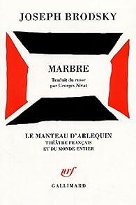 Marbre par Joseph Brodsky