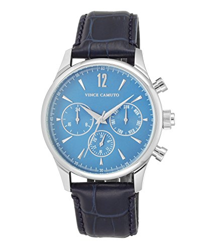 vince-camuto-mens-quartz-watch-with-blue-dial-analogue-display-and-blue-leather-strap-vc-1078lbsv