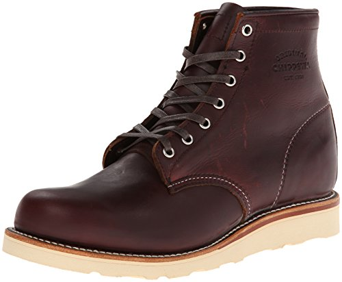 Chippewa Herren - 6' Boots 1901M16 D - Cordovan, Größe:US Men 8.5 / EU 41.5 6-zoll Plain Toe Boot