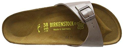 Birkenstock Madrid Birko-Flor, Mules femme Beige (Graceful Hazel)