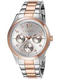 Esprit Damen-Armbanduhr Analog Quarz Edelstahl beschichtet ES106702005