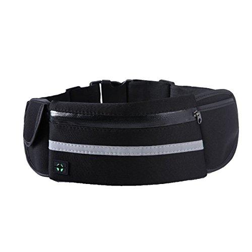 Multifunktionale Outdoor Fitness Sporttaschen Mehrfarbig Black