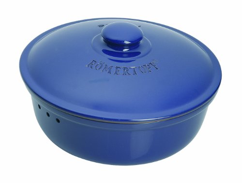 Römertopf 809 01 Brottopf rund, blau