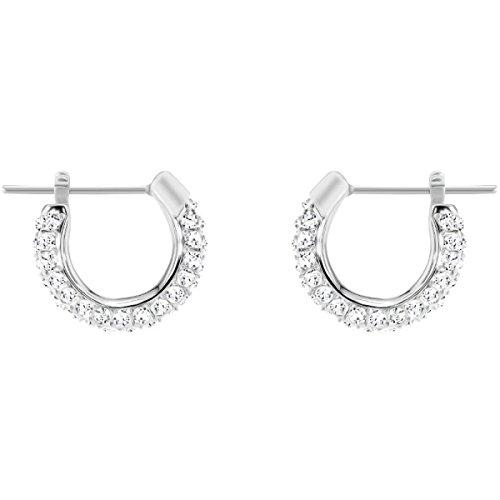 Swarovski orecchini a cerchio donna acciaio_inossidabile - 5446004