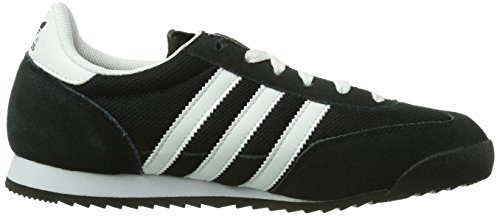 adidas Originals Dragon, Baskets mode mixte adulte Noir (Black/White/Metallic Gold)