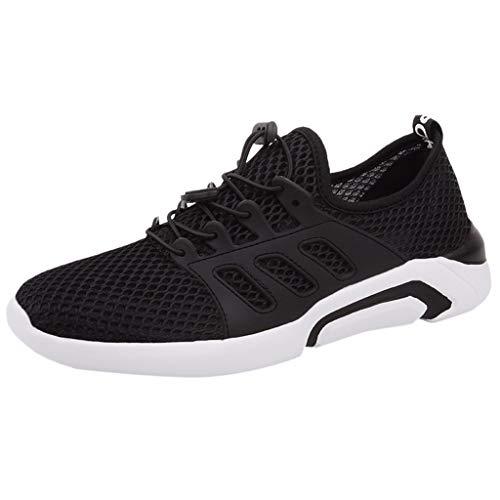 KERULA Sneaker Herren Damen Laufschuhe in Übergröße aus Mesh Wild Leichte, atmungsaktive Turnschuhe Sportschuhe Arbeitsschuhe Sommer Running Schuhe