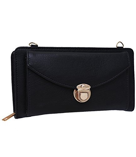 Fristo Women's Slingbag(FRSB-110)Black