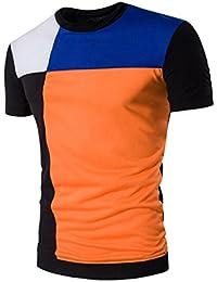 Yvelands Camisa de Manga Larga con Cuello en V y Manga Corta con Cuello en V c91d86c57f6