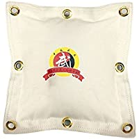 Wushu hueca bolsa de pared llamativos y Kick Boxing saco de boxeo de Wing Chun Kung Fu pared bolsa/bolsa de arena de boxeo, blanco