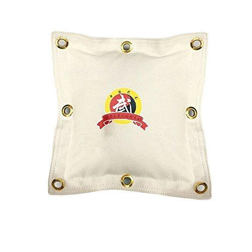 Wushu Hohl Wall Bag Kick Boxen kräftigen Boxsack Wing Chun Kung Fu-Wand/Tasche Sand Boxen, weiß