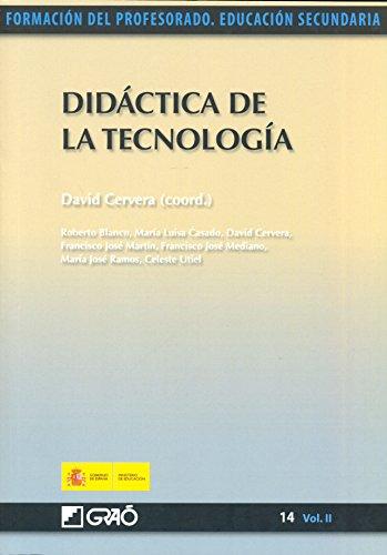 Didáctica de la tecnología par María Luisa Casado