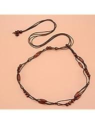 WZW Tissage main décoratifs jupe corde ceinture