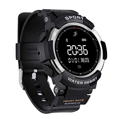LYDB LYDB Uhren 0,96 Zoll Touchscreen-Display Bluetooth 4.0 Smart Watch, IP68 wasserdicht, Unterstützung Schrittzähler/Pulsmesser/Trinkerinnerung/Bluetooth-Kamera, kompatibel mit Andro