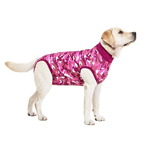 Recovery Suit Hund - XXL - Camouflage Rosa