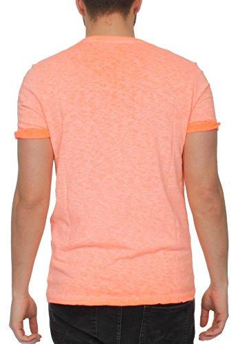 Superdry Herren T-Shirt Orange Label Low Roller Tee Orange