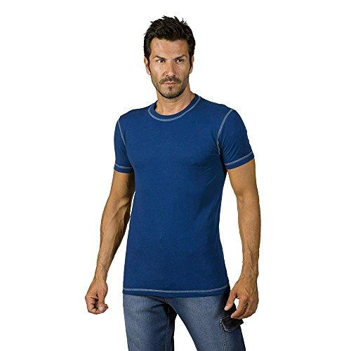 logica-spinning2-t-shirt-cotone-bluette-cuciture-contrasto-grigio-chiaro-maglia-maniche-corte-giroco