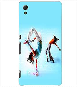 PrintDhaba Dance D-2267 Back Case Cover for SONY XPERIA Z4 (Multi-Coloured)
