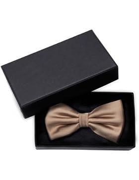 Corbata de lazo de Fabio Farini color marron