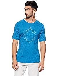 ASICS Men's Plain Regular Fit T-Shirt