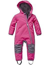 Outburst - Mädchen Softshell Overall Schneeanzug, Pink - 3712729