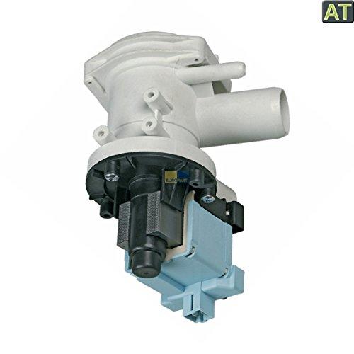 Europart 10027120 wie Bosch 141326 00141326 Pumpe Ablaufpumpe Laugenpumpe Pumpenmotor Magnettechnikpumpe mit Pumpenstutzen 30 Watt Waschmaschine auch wie Siemens Balay Constructa Profilo Neff