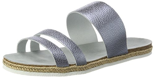Esprit Keita Slide, Mules Femme Bleu (440 Light Blue)