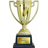 Framan Copa Trofeo con Mensajes para Ocasiones Especiales, Ideal como Regalo Original Y ECONÓMICO. Mensaje Mejor Hija